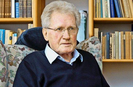 Harald Hepfer wird für sein jahrzehntelanges Engagement mit dem Kulturpreis der SPD ausgezeichnet Foto: factum/Granville