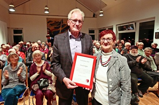Harald Hepfer mit Elviera Schüller-Tietze. Foto: factum/Granville